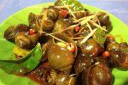 Cách làm ốc bươu xào sả ớt thơm ngon lạ miệng như ngoài hàng