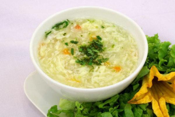 Cách làm soup chay thập cẩm măng tây