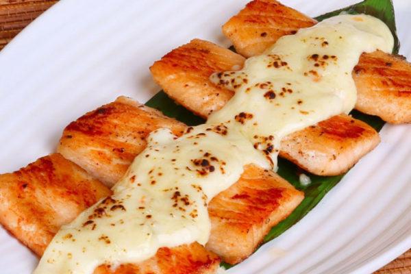 cách làm cá hồi nướng
