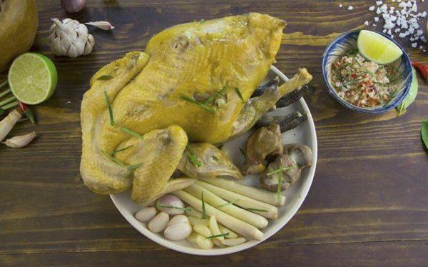 cách làm cánh gà hấp muối
