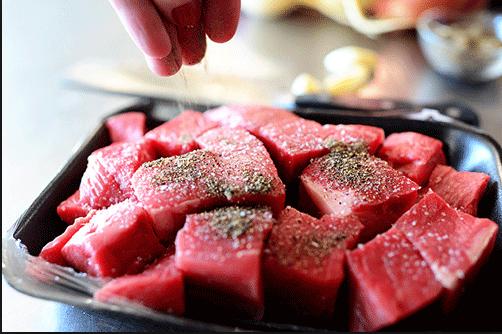 cách làm thịt bò kho gừng