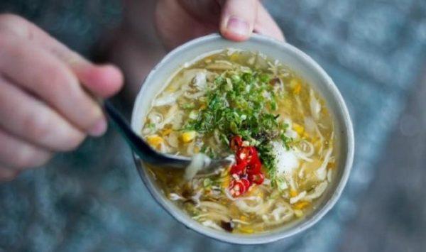 cách nấu súp gà nấm