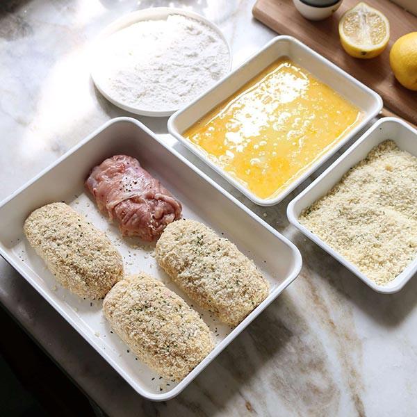 cách làm thịt gà cuộn phô mai