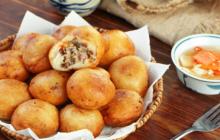 Cách làm bánh rán nhân chay mềm trong giòn ngoài cực ngon