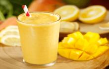 Cách làm sinh tố cam xoài thơm ngon bổ dưỡng, cả nhà đều mê