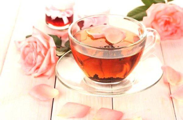 cách làm trà hoa hồng