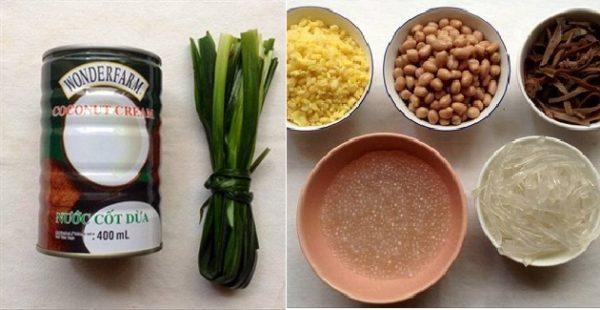 Cách nấu chè thưng