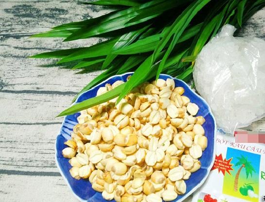 cách làm chè hạt sen rau câu