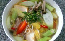 Cách làm canh chua nấu chay siêu đơn giản, giải nhiệt mùa hè