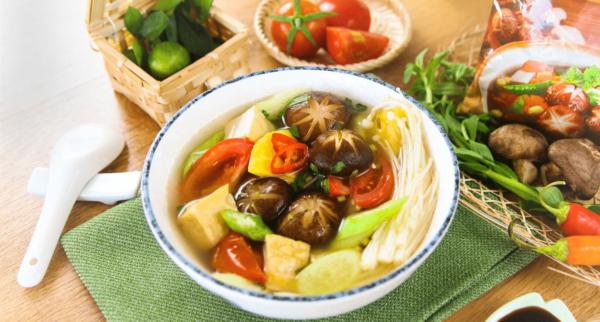 Cách làm canh chua nấu chay
