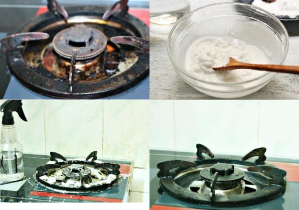 Cách làm sạch nhà bếp