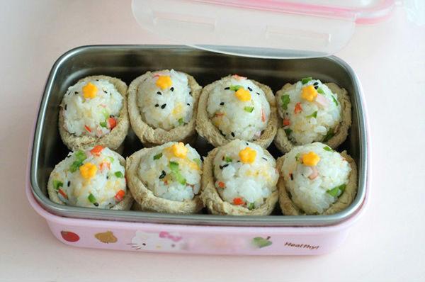 Cách làm sushi đậu hũ