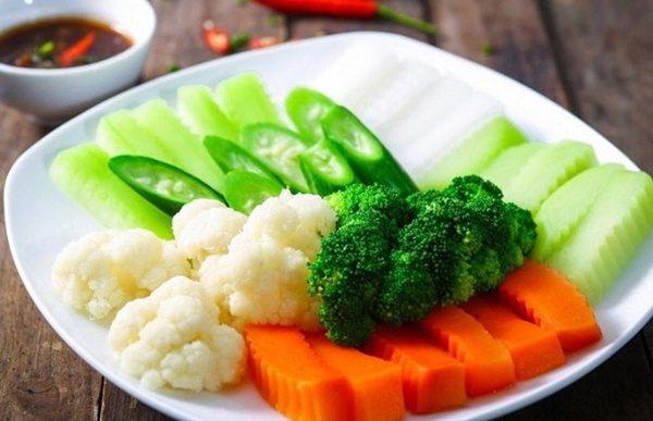 Cách luộc rau củ tươi xanh