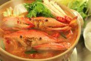 Cách nấu lẩu ghẹ chua cay vừa đơn giản, vừa hấp dẫn