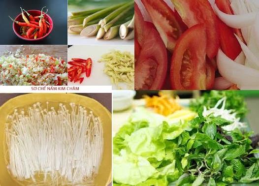 Cách nấu bún thái