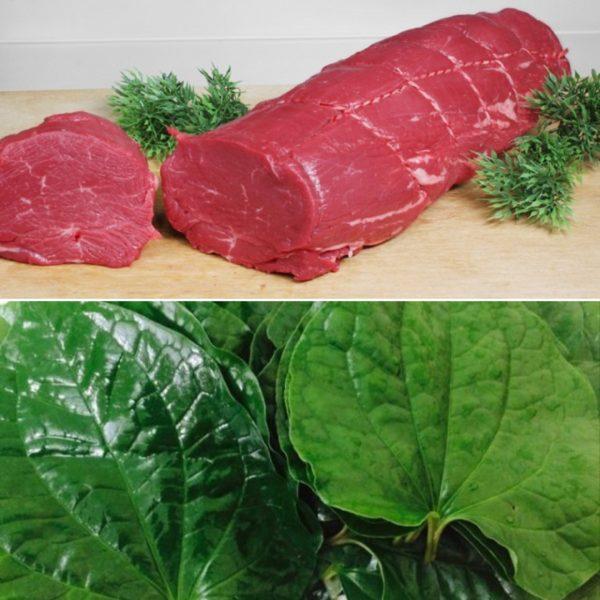 Cách làm thịt trâu xào lá lốt