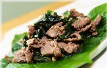 Gợi ý cách làm thịt trâu xào lá lốt bao ngon, bao dễ