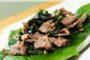 Cách làm thịt trâu xào rau muống mềm, ngon, đơn giản