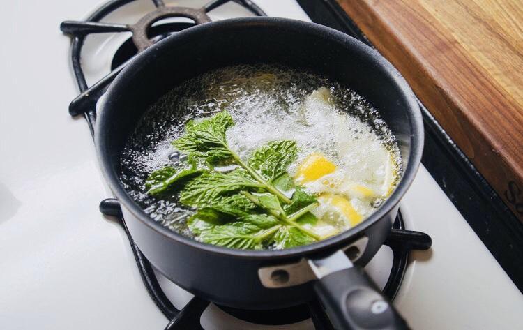Cách làm trà bạc hà giảm cân