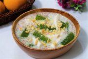 Công thức cách nấu chè dừa non rau câu lá dứa dễ không tưởng