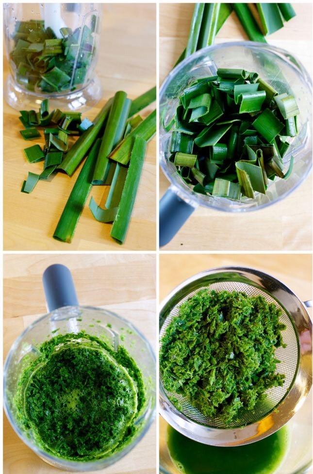 Cách làm chè dừa non rau câu lá dứa đơn giản