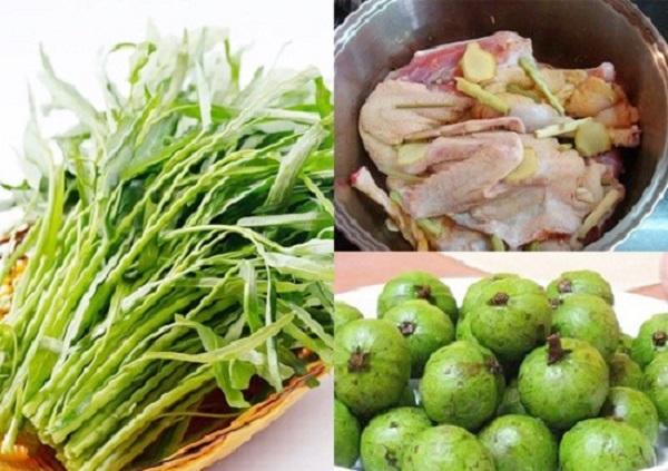 Cách nấu lẩu vịt om sâu nước dừa