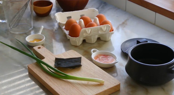Cách nấu trứng hấp Hàn Quốc