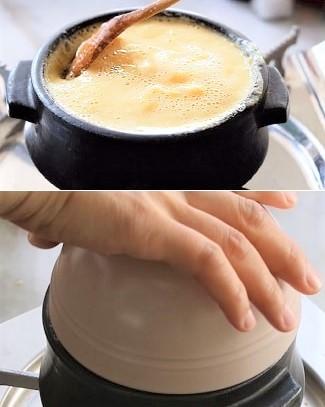 Cách nấu trứng hấp Hàn Quốc siêu ngon