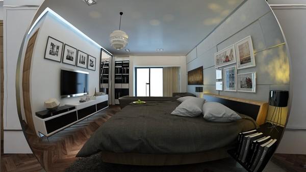 Tư vấn bố trí nội thất phòng ngủ dài và hẹp cho gia đình 4 người - ảnh nhà đẹp nội thất đẹp số 17