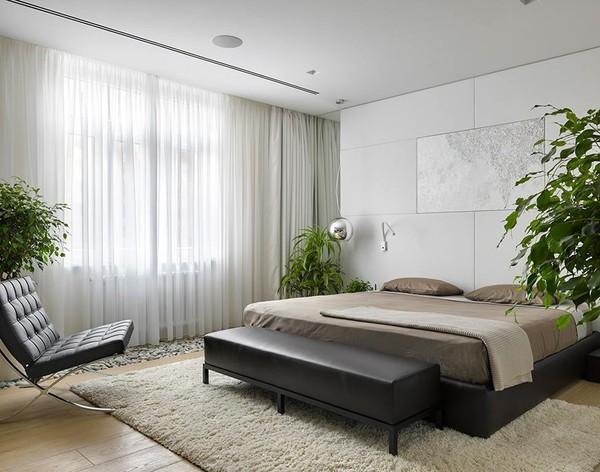 Tư vấn bố trí nội thất phòng ngủ dài và hẹp cho gia đình 4 người - ảnh nhà đẹp nội thất đẹp số 32