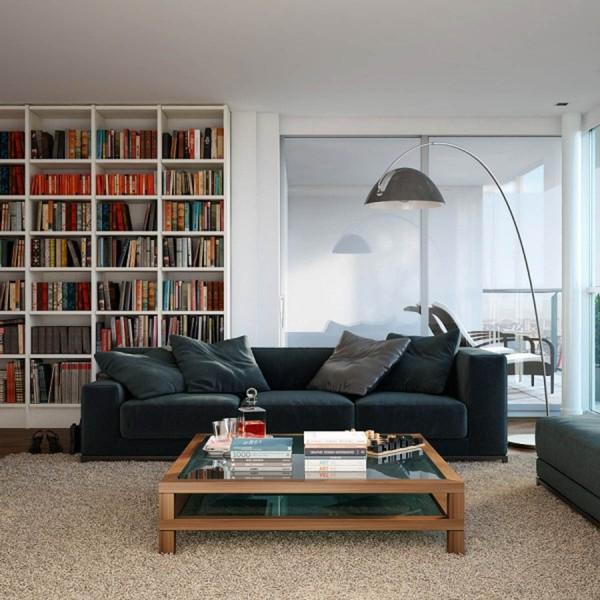 Ghế sofa nhỏ gọn cho phòng khách có diện tích khiêm tốn